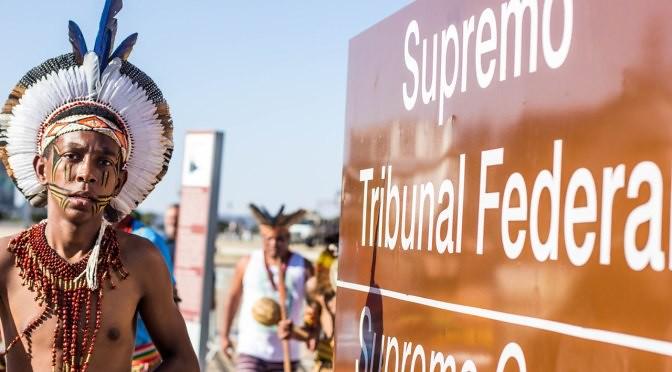 Povos Indígenas realizam mobilização contra o marco temporal