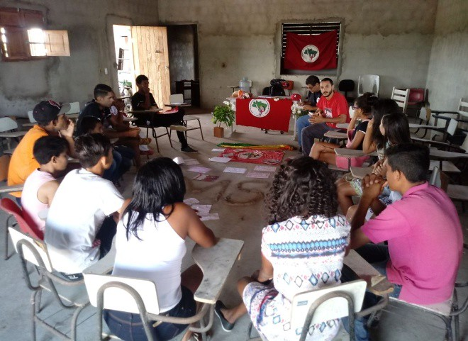 Coletivos da Paraíba realiza atividades da 8ª Jornada Nacional da Juventude Sem Terra