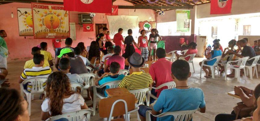 MST realiza encontro de jovens de assentamentos e acampamentos no Maranhão