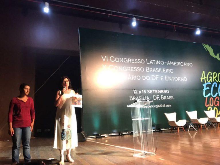 Abertura do X Congresso de Agroecologia é marcado pelo Fora Temer!