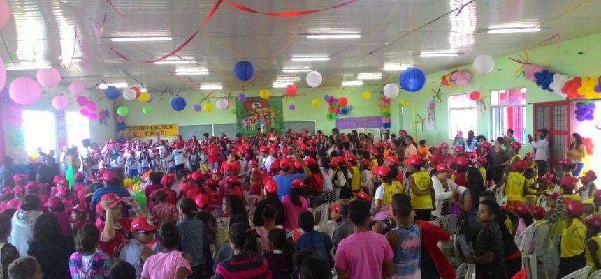 Crianças se reúnem em Pernambuco para o XIII Encontro Estadual dos Sem Terrinha