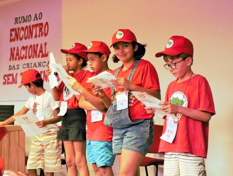 MST lança 1° Encontro Nacional das crianças Sem Terrinha em Brasília
