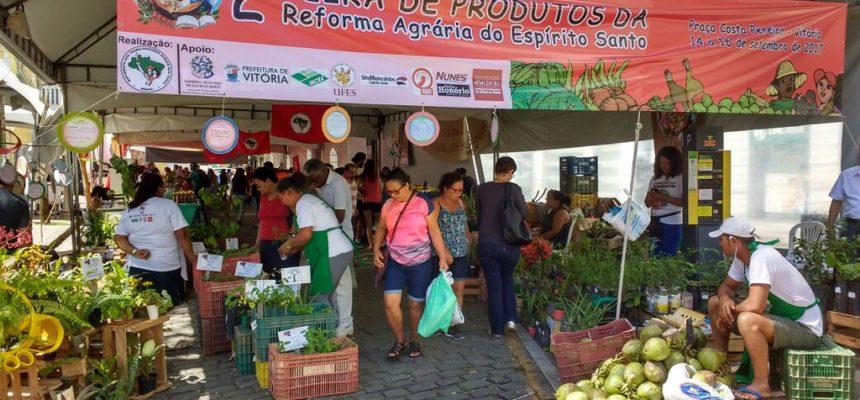 MST capixaba realiza II Feira da Reforma Agrária em Vitória