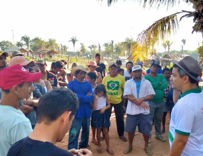 Famílias Sem Terra resistem a despejo no Tocantins