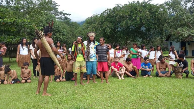 MST apoia a luta do povo Tupi e Guarani pela demarcação da TI Ywyty Guaçu (Renascer) em Ubatuba/SP