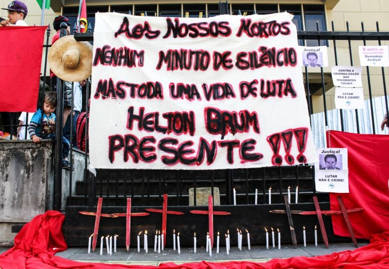 Crime impune: justiça liberta policial militar que matou Sem Terra no RS