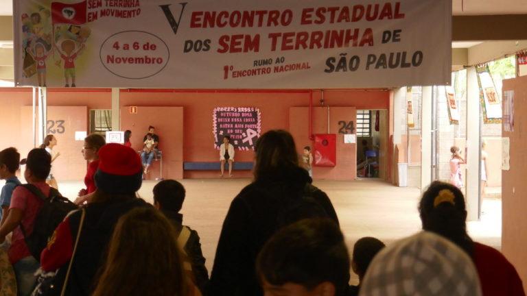 Crianças Sem Terrinha se reúnem em São Paulo