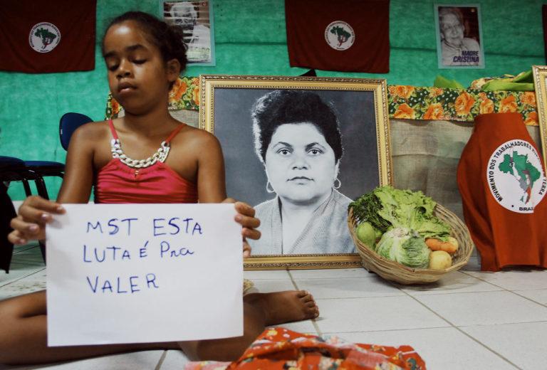 ''Sem Terrinha na luta pela alimentação saudável''.