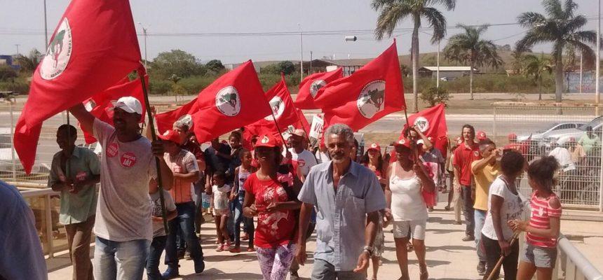 No Rio de Janeiro, Sem Terra fecham a Jornada de Luta com Marcha em defesa da Reforma Agrária