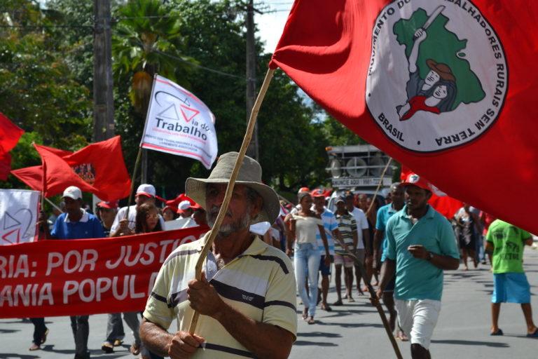 Mais de dois mil SemTerra seguem mobilizados em Alagoas