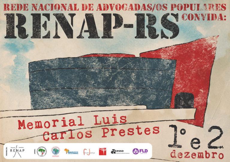 Luta pela terra e criminalização dos movimentos populares são pautas de encontro da Renap em Porto Alegre