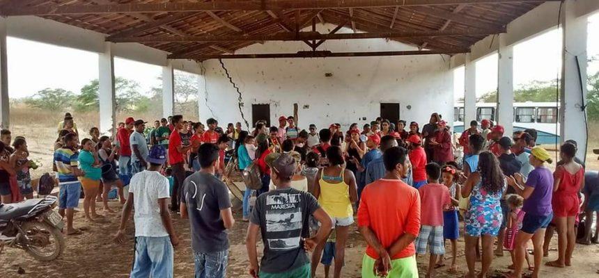 Mais uma fazenda improdutiva é ocupada no Ceará