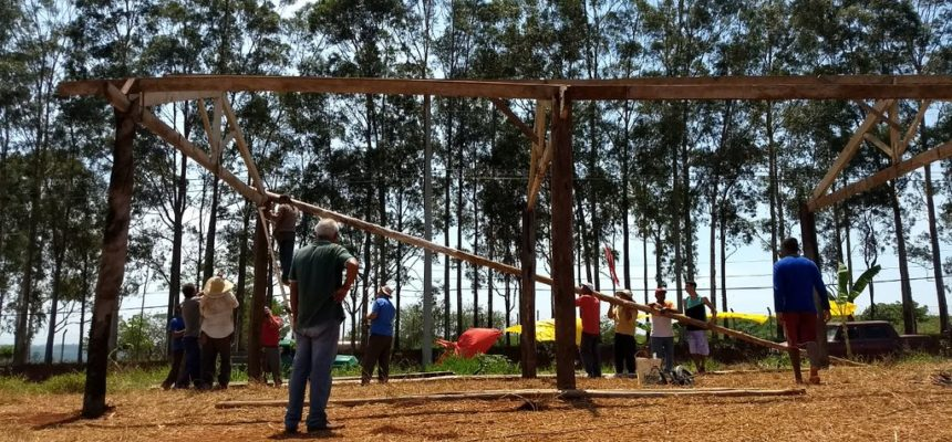 Segue a mobilização da ocupação do Horto Florestal Tatu no interior de São Paulo