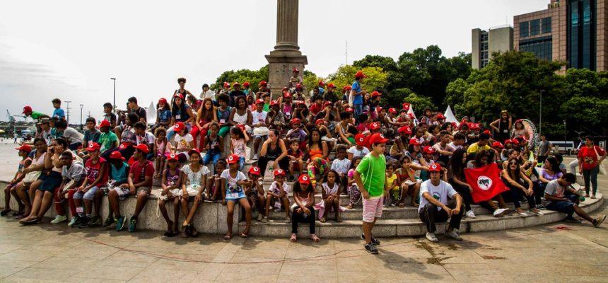 XX Encontro Estadual das Crianças Sem Terrinha 2017, acontece no Rio de Janeiro