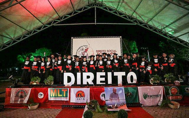 Camponeses se formam em Direito por meio do Pronera na Bahia