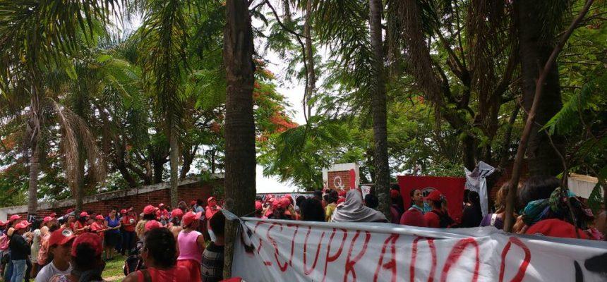 Mulheres do MST denunciam a cultura do estupro e ocupa fazenda ligada a ruralista