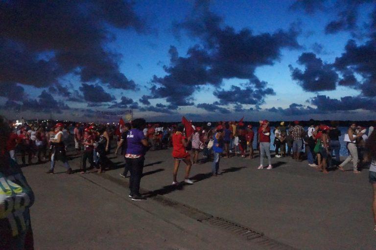 mulheres terminam Jornada Nacional de Lutas ocupando o Porto de Natal