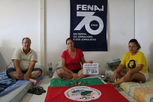 Greve de fome: 5º dia sem se alimentar contra a reforma da Previdência