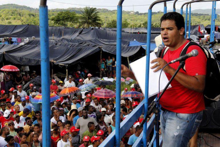 Márcio Matos Vive! Políticos e movimentos se solidarizam com MST e familiares
