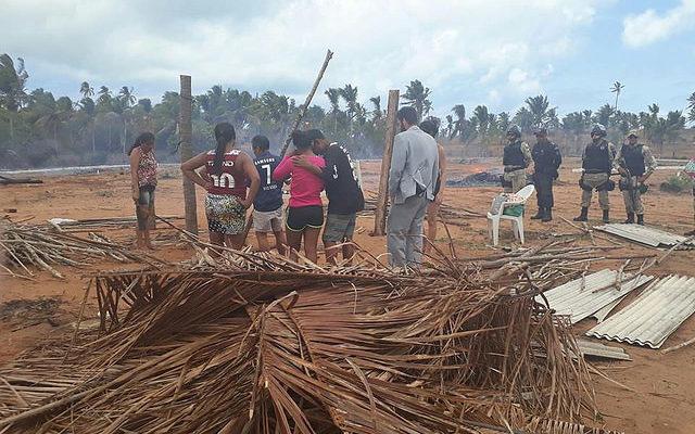 No Rio Grande do Norte, famílias Sem Terra sofrem despejo