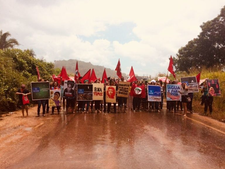 Mulheres lutam contra os impactos dos grandes empreendimentos na região Tocantina