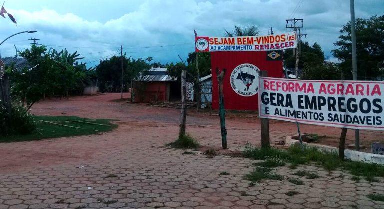 MST no Mato Grosso denuncia tentativa de despejo em acampamento