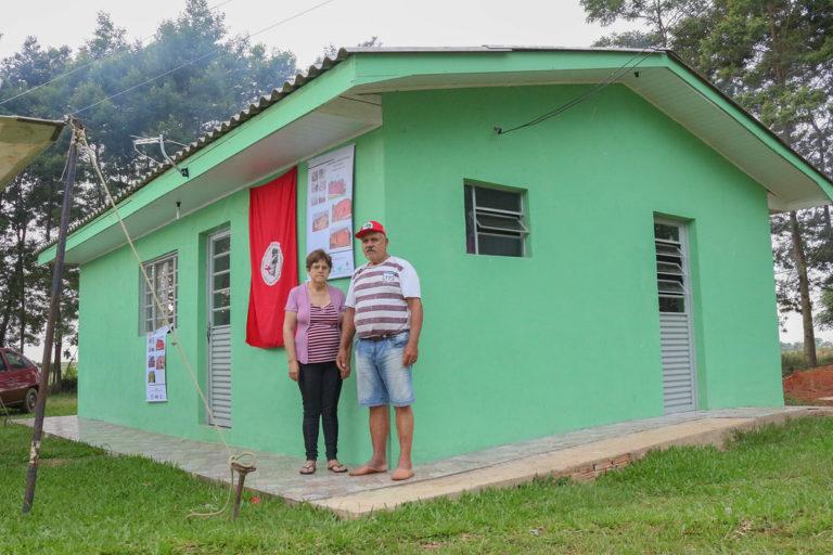 Sem Terra inauguram mais 26 unidades habitacionais no Rio Grande do Sul
