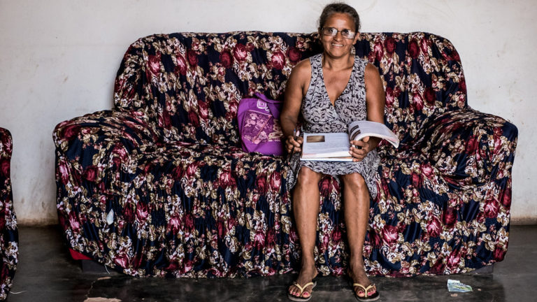 diz agricultora que aprendeu a ler com método cubano