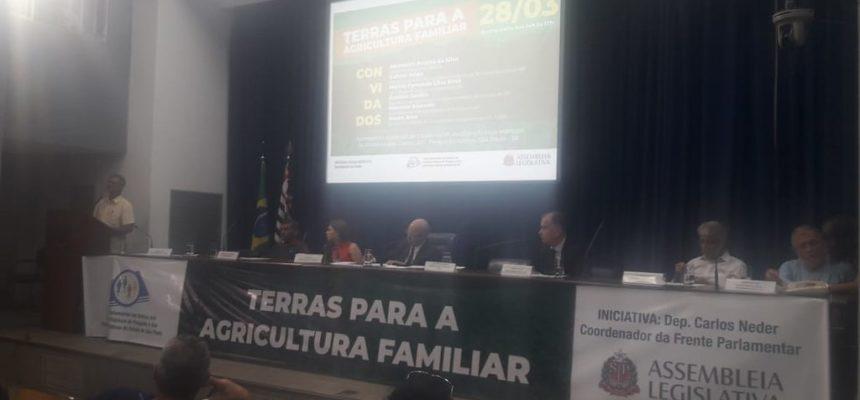 MST participa de audiência para discutir terras públicas em São Paulo
