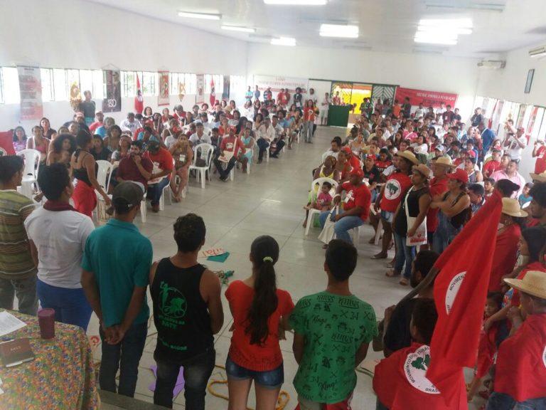 """o futuro nos pertence"""" reafirmam Sem Terra no Pará"""