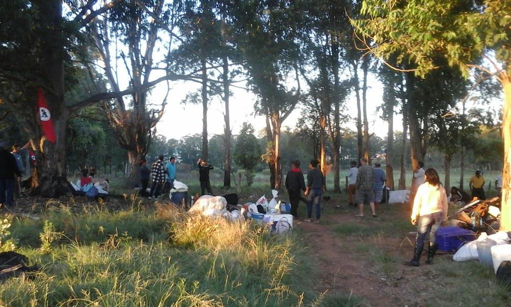 Ocupação do MST na área da CEEE, em Candiota. Foto Divulgacão.jpg