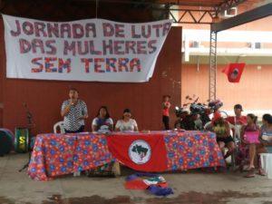as mulheres Sem Terra iniciam Jornada de Lutas no Pará