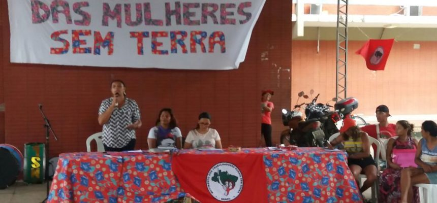 Debatendo o feminismo camponês e popular, as mulheres Sem Terra iniciam Jornada de Lutas no Pará