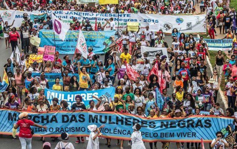 Marcha convoca mulheres negras para as ruas no dia internacional da mulher