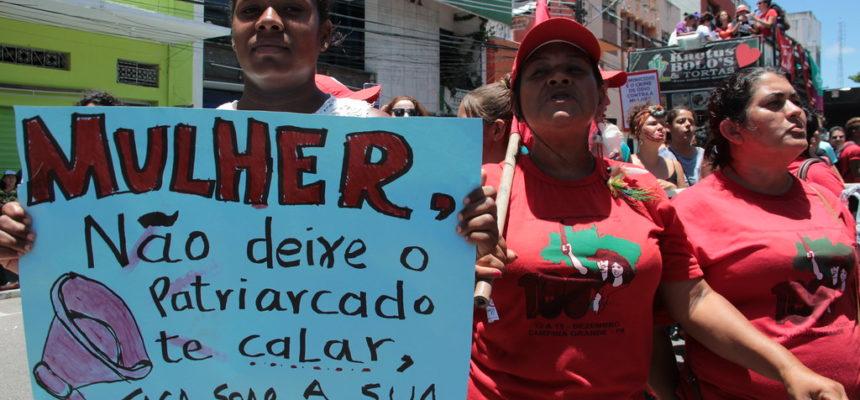 Mulheres saem às ruas da Paraíba em Jornada Nacional de Lutas