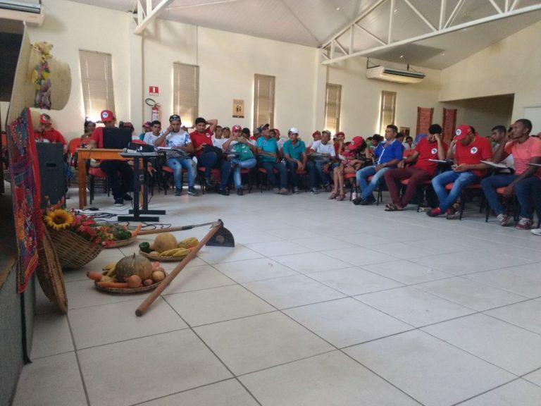 MST realiza seminário preparatório para 1° Copa Estadual da Reforma Agrária