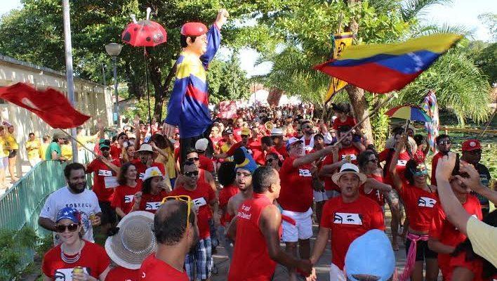 MST celebra o Carnaval na cidade histórica de Olinda