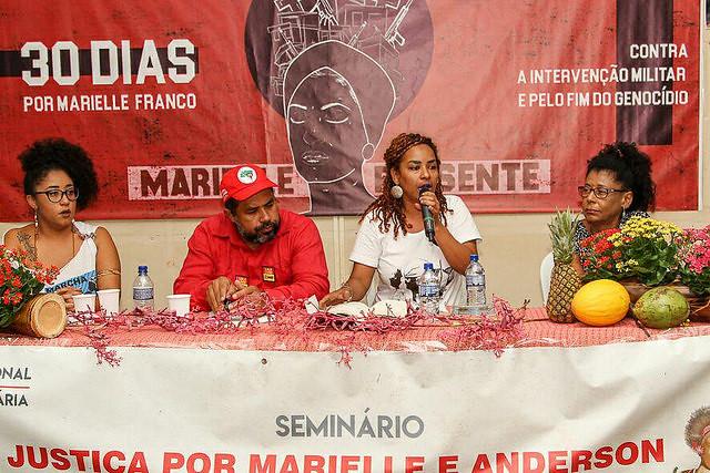 Assassinato de Marielle é tema de debate durante Feira da Reforma Agrária