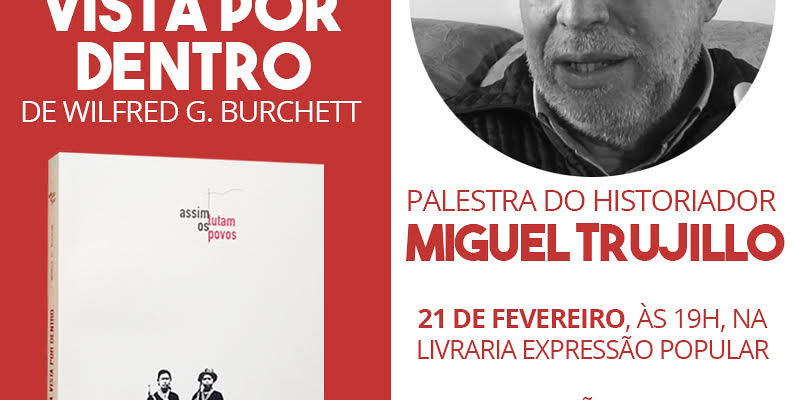 Vietnã: a guerrilha vista por dentro – Wilfred G. Burchett é lançado em São Paulo