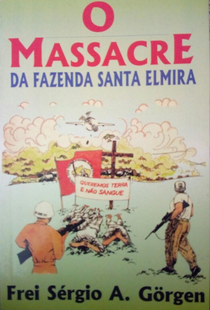 Frei Sérgio escreveu um livro que conta a história do massacre..jpeg