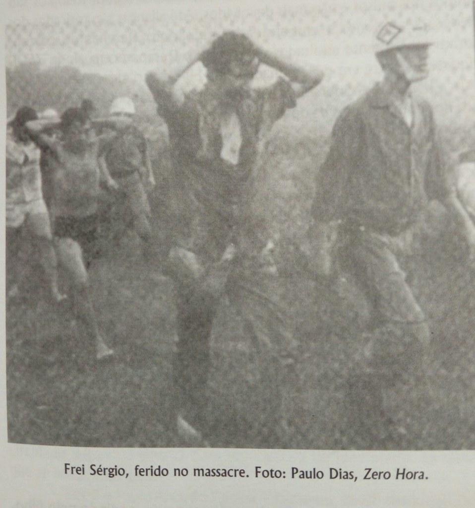 A brutalidade da Brigada Militar na ação de despejo foi um dos fatos mais marcantes para Frei Sérgio..jpeg