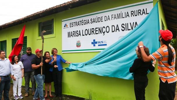 Unidade Básica de Saúde foi inaugurada em 2014, e hoje atende cerca de 2,4 mil pessoas em área rural de Nova Santa Rita - Foto Andressa Moreira.jpg