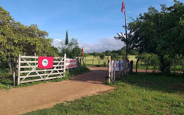 Acampamento no Ceará sofre ameaça de despejo