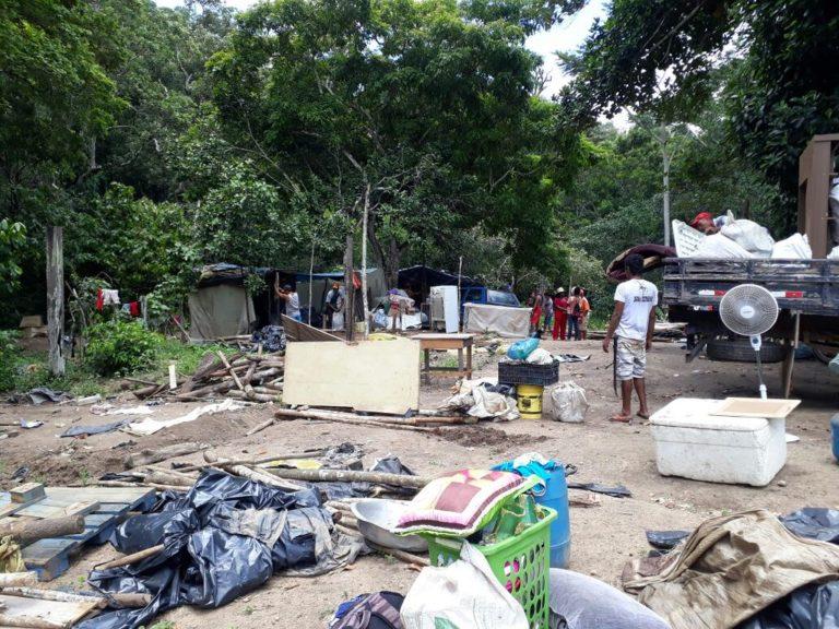 acampamento Marisa Letícia sofre despejo