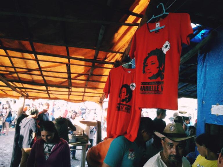 Acampamento Marielle Vive! completa um ano em Valinhos