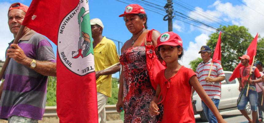 Sem Terra realizam reunião com o governador de Alagoas