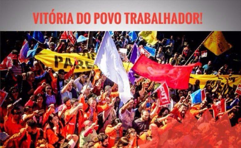 declara Frente Brasil Popular