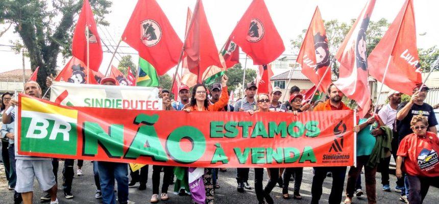 MST participa de atos unificados dos trabalhadores em todo o país
