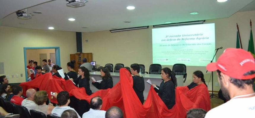 UFRGS realiza sua 5ª Jornada Universitária em Defesa da Reforma Agrária
