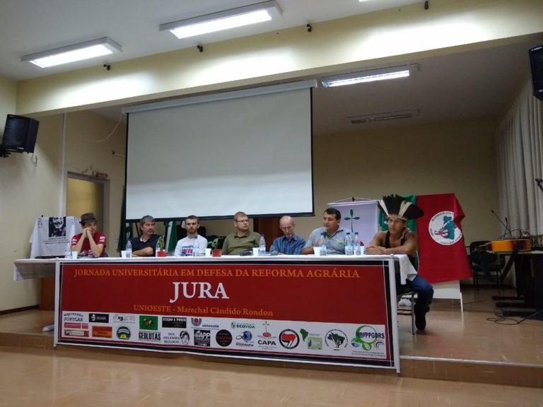 Jornadas Universitárias no Paraná incentivam defesa da Reforma Agrária